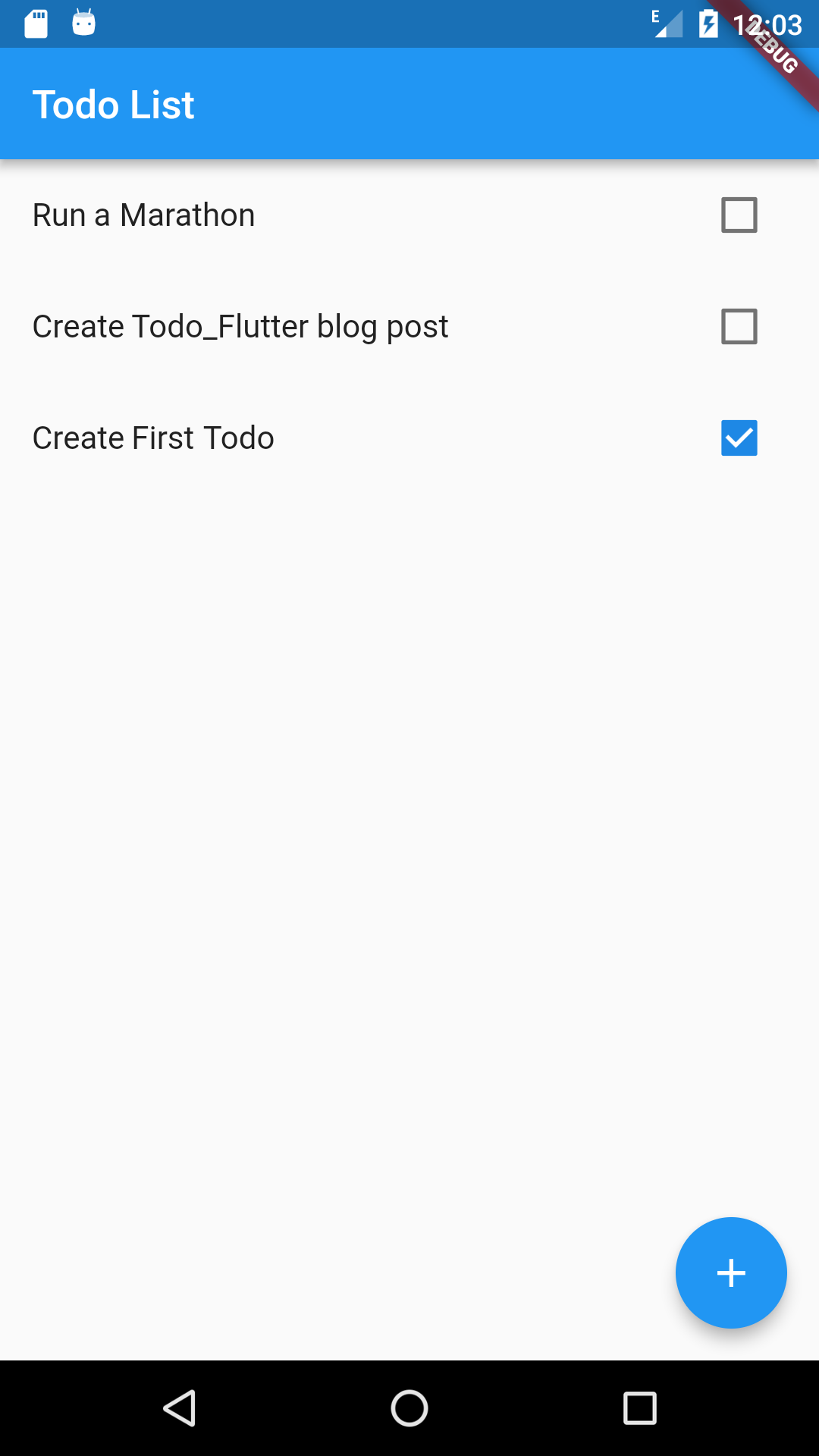 Todo in Flutter | Coding, Hiking, and Drinking Coffee
